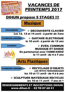 Dihun • stages printemps 2017